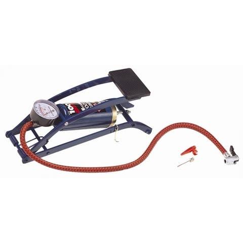 Custom Accessories 57770 Deluxe Foot Pump, 100 PSI