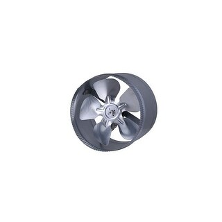 Canarm D10S 647 CFM 3 Sone In-Line Boosted Duct Exhaust Fan