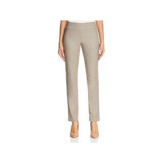Nic + Zoe Womens Dress Pants Solid Slim