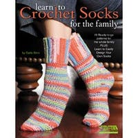 Learn To Crochet Socks For The Family - Leisure Arts