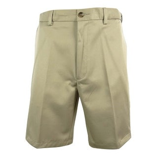 Roundtree & Yorke Big & Tall Men's Easy Care Flat Front Shorts