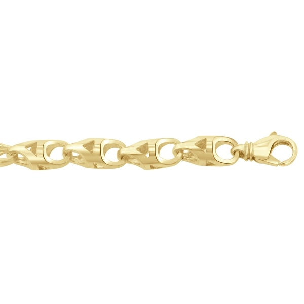 d2cb22d67db3d Men's 10K Gold 28 inch link chain