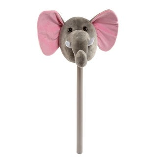 Link to Ponyland Grey Plush Action Elephant Stick w/ Music Similar Items in Stuffed Toys