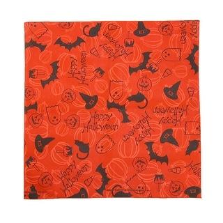CTM® Happy Halloween Bandana - Orange - One Size