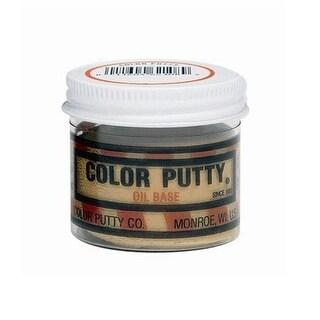 Color Putty 16144 Oil Based Wood Filler, 1 Lb Jar, Teakwood