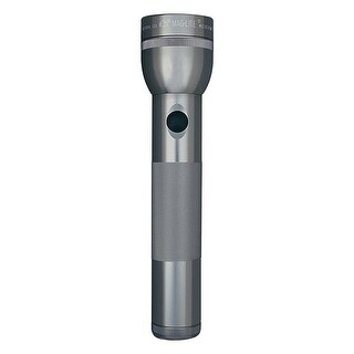 Maglite s2d095 maglite 2 cell d flashlight gray-gift box