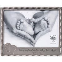 Precious Moments  Baby Footprints Photo Frame - Holds 5 x 7 in. Photo