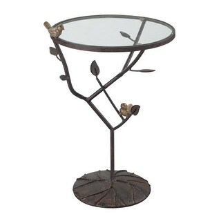 Wonderful Sterling Industries 138 054 Kimberly Birds On A Branch Accent Table