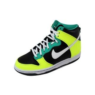 Nike Grade-School Dunk High Black/White-Dark Atomic Teal 308319-037