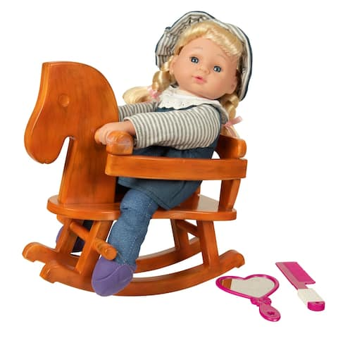 "13"" My Rocking Horse Doll Set"