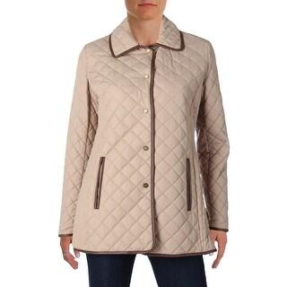 Lauren Ralph Lauren Womens Coat Quilted Lightweight