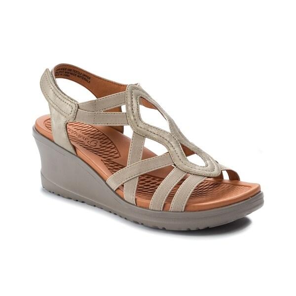3f9664c9276 Shop Baretraps Hadley Women s Sandals   Flip Flops Champagne - Free ...