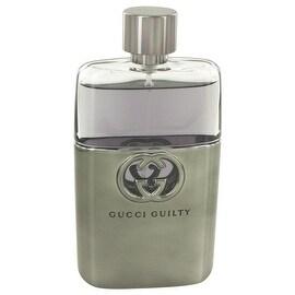 Gucci Guilty by Gucci Eau De Toilette Spray (Tester) 3 oz - Men