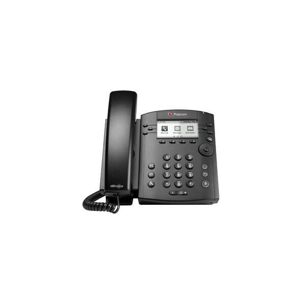 Refurbished Polycom VVX 300 (2200-46135-025) 6-line Entry-Level Business Media Phone