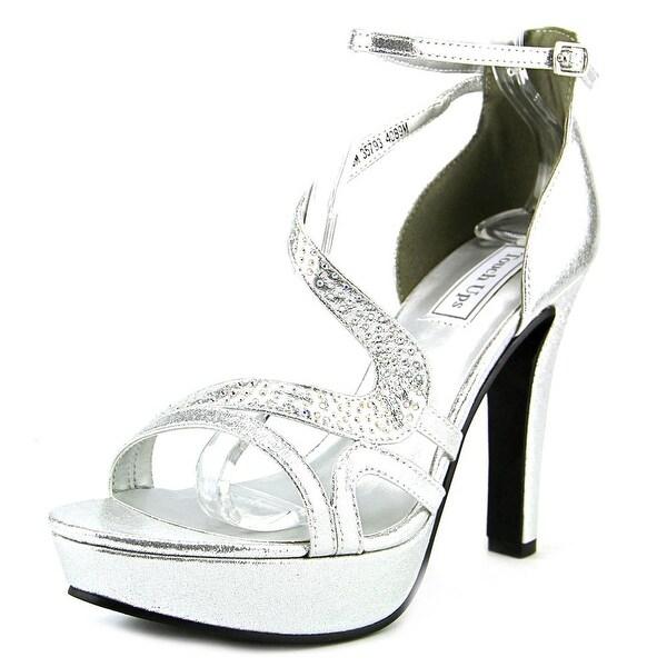 Touch Ups Breeze Women  Open Toe Synthetic Silver Platform Sandal