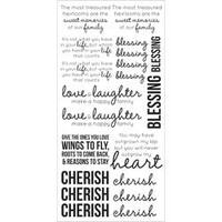 """Family - Clear Stickers 5.75""""X12"""""""