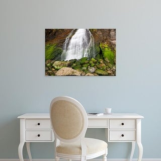 Easy Art Prints Jamie & Judy Wild's 'Blumenthal Falls' Premium Canvas Art