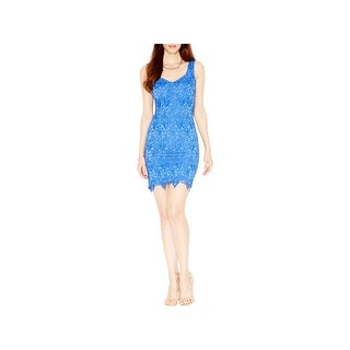 Guess Womens Cocktail Dress Lace Lined