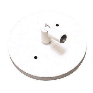 Elco EP905 Sloped Ceiling Pendant Adapter - Black