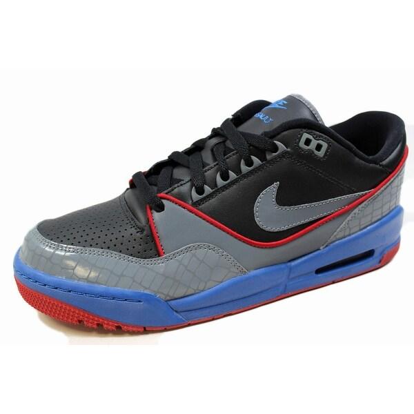 Nike Men's Air Assault Premium Black/Flint Grey-Varsity Royal 316822-001 Size 10