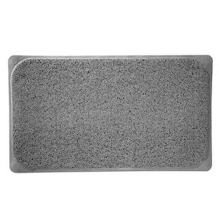 Popular Bath Woven Loofah Bath Mat, 17.25x29.5 Inches
