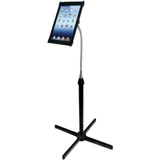 CTA Digital PADAFSb CTA Digital Height-Adjustable Gooseneck Floor Stand for iPad 2/3 (PAD-AFS)