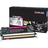 Lexmark X746A4MG Lexmark Toner Cartridge - Magenta - Laser - 6000 Page - 1 / Pack