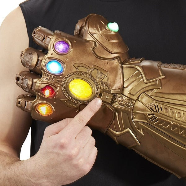 Marvel Legends Series Infinity Gauntlet Articulated Electronic Fist Stone Lights