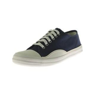 Tretorn Mens Racket Casual Sneakers Canvas Low