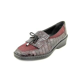 Ara Rachel Women Square Toe Leather Loafer