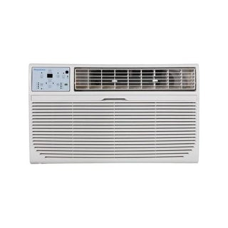 Keystone KSTAT12-2C 12,000 BTU 230V Through-the-Wall Air Conditioner with Follow Me LCD Remote Contr - White