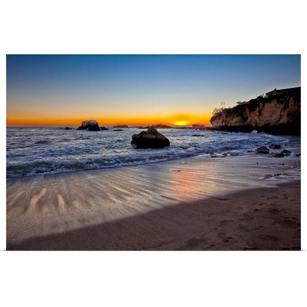 """""""Cove at Shell Beach"""" Poster Print"""