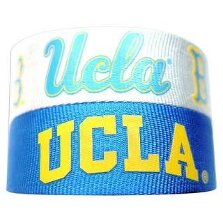 UCLA Bruins Slap Snap Wrap Wrist Band (Set of 2) NCAA