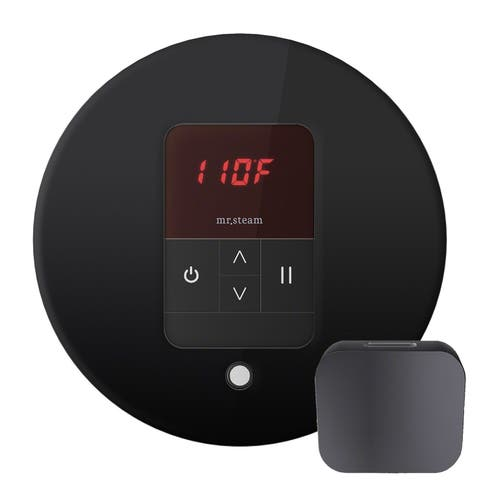 Mr Steam MSITEMPORD iTempo Digital Steam Shower Control Unit with Round Steamhead -