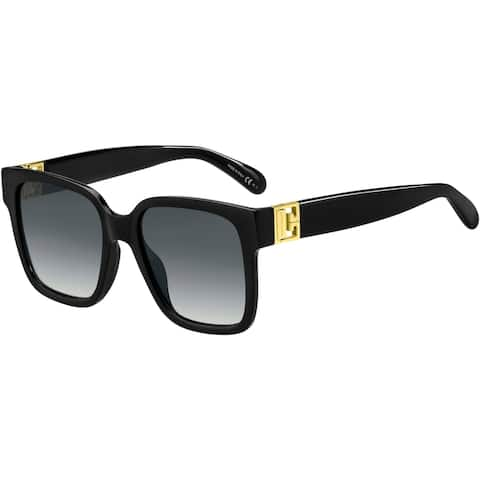 GIVENCHY GV7141GS 0807 53 BLACK FEMALE ADULT SQUARE Sungasses