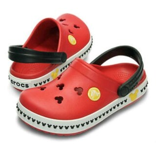 Crocs Boys mickey clog III Slip On Mules - 2m youth