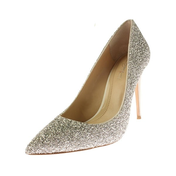 Vince Camuto Womens Olson Stilettos Embellished Pump