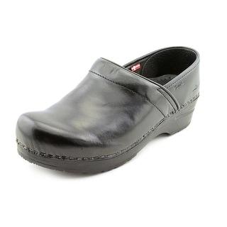 Sanita Professional Cabrio Women Round Toe Leather Clogs