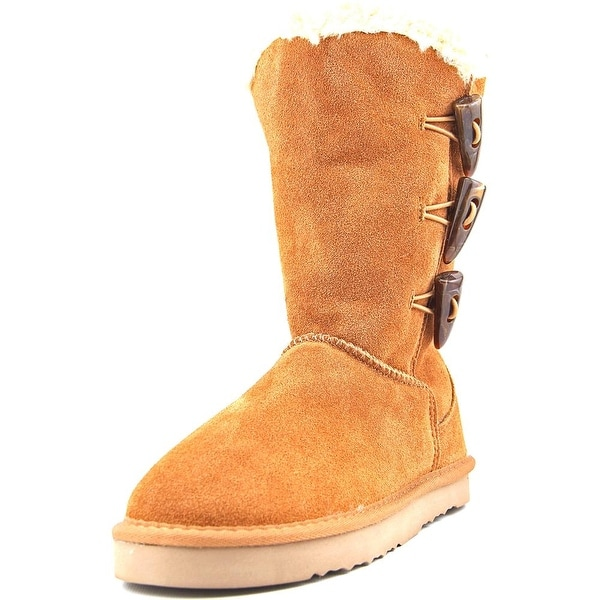 Style & Co Bellaa Women Chestnut Snow Boots