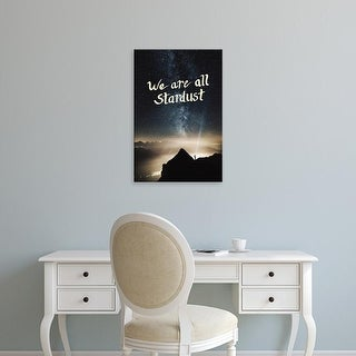 Easy Art Prints 'Stardust' Premium Canvas Art