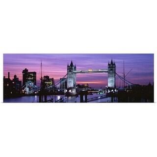 """England, London, Tower Bridge"" Poster Print"
