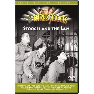 Three Stooges - Stooges & the Law [DVD]