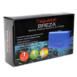 Aquatop Breza Battery Powered Aquarium Air Pump 1 Count