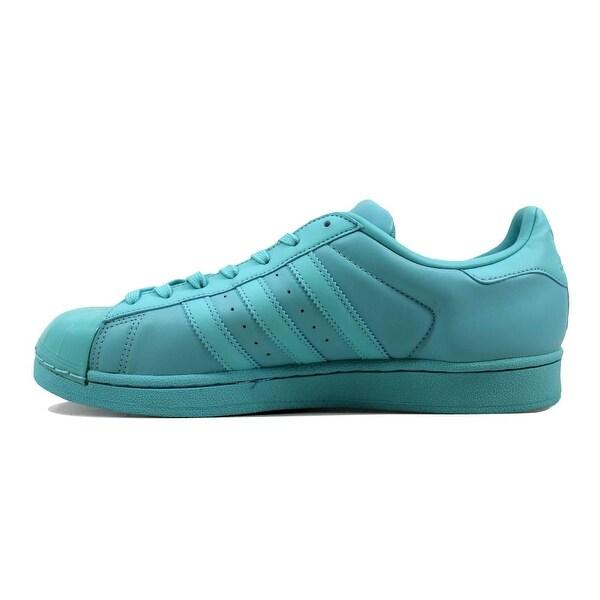 Shop Adidas Women's Superstar Glossy Toe W MintBlack BB0529