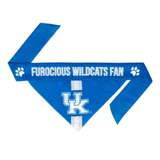 Kentucky Wildcats Pet Bandanna Size L