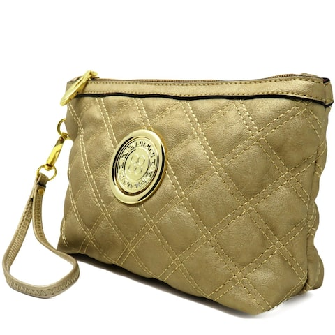 5f903e66a6 Buy Gold Clutches & Evening Bags Online at Overstock | Our Best Shop ...