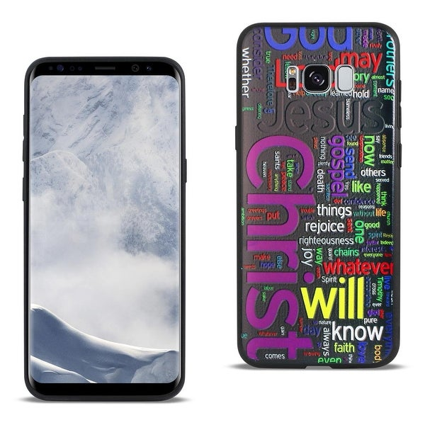 reiko samsung galaxy s8 edge design tpu case with vibrant word cloud