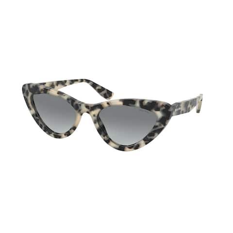 Miu Miu MU 01VS KAD3M1 55 Sand Havana Moro Woman Butterfly Sunglasses - Sand TortoiseMoro