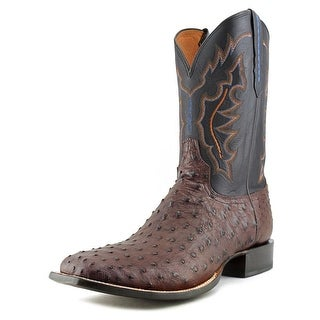 Lucchese VAMP Square Toe Leather Western Boot