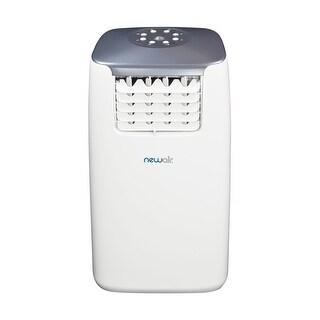 NewAir AC-14100E 14,000 BTU Portable Air Conditioner - white & gray